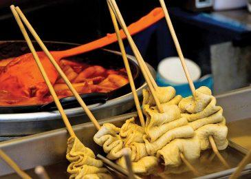 Những món ăn đường phố siêu ngon ở Seoul