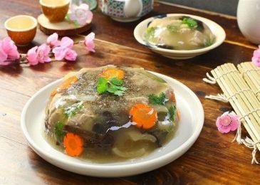 Những món thịt đông không thể thiếu trong mâm cỗ tết ở Hà Nội